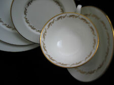 Wedgwood Golden Fleece Bone China England White with Gold Trim *Your Choice *