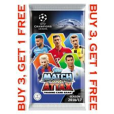 Match Attax Champions League 16/17 - Ltd Editions, 100 Clubs, MOTM, Hat-trick