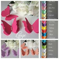 15 Paper 3d Butterfly Wedding Confetti Table Decoration Toppers Embellishments