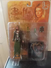 "BUFFY THE VAMPIRE SLAYER  SIGNED TRIANGLE TARA WITH CD 6"" ACTION FIGURE SEALED"