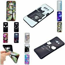 Fashion Style Rubber THIN SOFT TPU Back Cover Case Skin For Samsung Galaxy 2017
