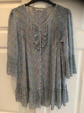 DARLING WOMENS SIZE M (12) FLORAL STYLE DRESS TOP