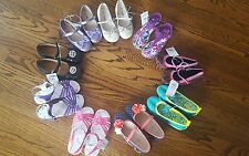 Toddler Girls Size 11 Sandals/Shoes/Hightop Assorted NWT Each Sold Separately