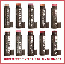 Burts Bees Tinted Lip Balm  Lot of 4  15 oz -Choose Your Flavor $13.99 FS