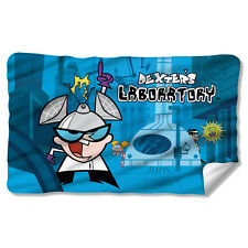 CARTOON NETWORK DEXTERS LABORATORY LAB FLEECE THROW FREE SHIPPING IN US