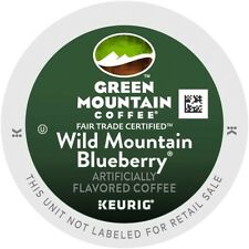 Keurig Brewer Coffee K Cups- GM Wild Mountain Blueberry (12 or 24 Count)