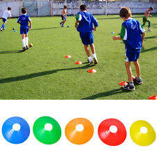 10pcs Football Rugby Sports Football Training Space Marker Soccer Disc Cones