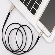 1Pcs Charging Cable 3D Data Sync Fashion  iPhone Zinc Alloy Android Charger USB