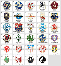 Badge Pin: German football club Germany pins PART 2 Munchen Frankfurt Koln