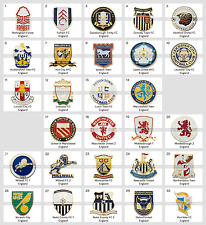 Badge Pin: Premiership Clubs England football clubs PART 2
