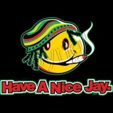 HAVE A NICE JAY- Sarcastic Cool  Adult Graphic Gift Idea Funny Novelty T-shirts