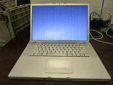 """Apple MacBook Pro 15"""" 2008 A1226 Core2 Duo 2.26GHz 1GB RAM No HDD Video Issue"""