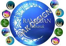 7 inch Ramdan Kareem Cake and 10 cup cake topper on Edible Rice Paper