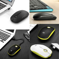 2.4GHz Wireless Cordless Optical Mouse Mice + USB Receiver for PC Laptop