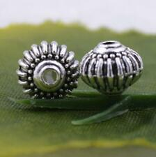 Wholesale 10pcs/50pcs/100pcs tibet silver spacer beads charm for jewelry making