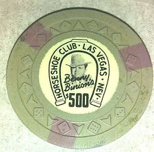 Binion's Horseshoe Obsolete $500 arrow die mold Casino Chip