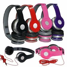 2x Pcs Over-Ear Earphone Adjustable Headphone 3.5mm For iPhone MP3 MP4 PC Tablet