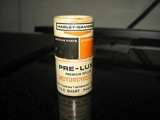 Vintage Harley Davidson Pre-Luxe Motor Oil Can Matches