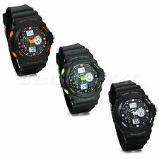 Casual Multifunction Alarm Date Stopwatch Mens Boys Sport Electronic Wrist Watch
