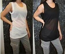 NWT Fluxus Blouse Top/T-Shirts STYLE# 136W1353 CHOOSE BLACK OR WHITE