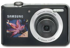 Samsung DualView TL205 12.2 MP Digital Camera - Black