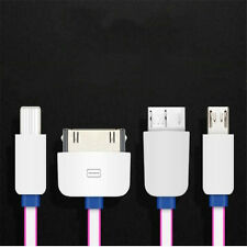 1Pcs Small Size 4in1 Convenience IOS Android USB Cable Charger Multifunction