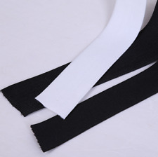 5 cm 1/5/20 Yards Knitted Elastic Black / White Crafts Sewing Trim