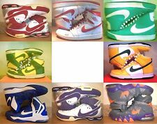 NIKE! SHOX JORDAN BLAZER DUNK HYPERAGGRESSOR STRONG WHITE RED GREEN BLUE PURPLE