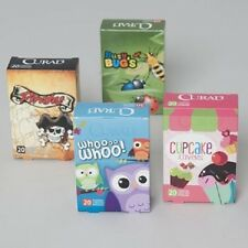 CURAD 20CT, 2 size/box DISPLAY 4 ASSORTED PRINTED BANDAGES FOR KIDS CHILDREN