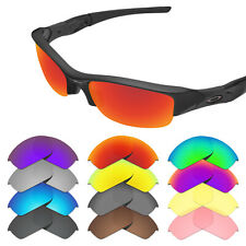 Tintart Replacement Lenses for-Oakley Flak Jacket Sunglasses - Multiple Options