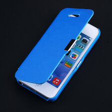 Flip Magnetic PU Leather Phone Case Ultra Thin Fashion Cover for iPhone 5 5s SE