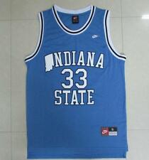 NWT Larry Bird Indiana State University blue JERSEY