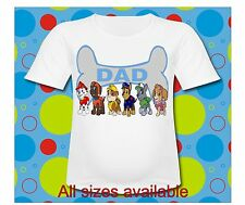 Paw Patrol Brother T Shirt All Sizes Personalized Birthday Paw Patrol T Shirt
