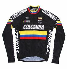 Suarez Colombia Black Long Sleeve Cycling Jersey RRP £54.99