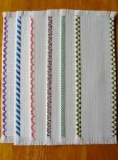 New Lot Hand Crafted Cross Stitch Cloth Blank Bookmarks To Stitch 14 Count 24X94