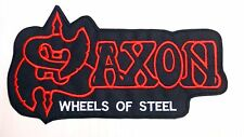 Backpatch Bands Saxon, Mercyful Fate, Exciter, Mayhem, Arkona, Chrome Division