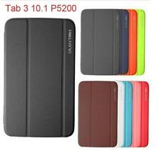 "Magnetic PU Leather BOOK Case Cover For Samsung Galaxy Tab 3 10.1"" P5200 P5210"