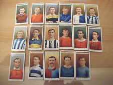 """PICK-A-CARD FROM OGDENS """"FAMOUS FOOTBALLERS""""   1908 - *REVISED*"""