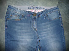 """NEW WOMENS LOW RISE JEANS BY CRAFTED WAIST 30"""" & 34"""" X LEG 33""""- 34.5"""" BNIB BNWOT"""