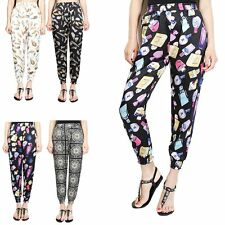 Gypsy Womens Casual Harem Baggy Hip Hop Dance Sport Sweat Pants Trousers Slacks