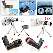 US Universal 8X 12X 18X Zoom Camera Lens Telephoto Telescope For LG Tribute HD