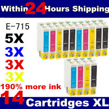 14 Compatible Ink Cartridges for Stylus Colour Inkjet Printer