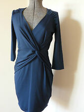 REVIEW BEAUTIFUL CROSSOVER STRETCHY MEGAN DRESS/EVENING/PARTY/WORK RRP:$ 200 NWT