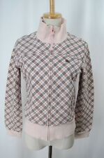 BURBERRY BLUE LABEL Pink Cotton Jersey Jacket 428 8963