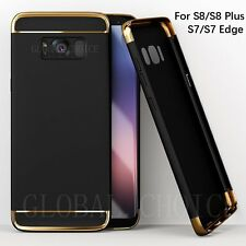 Ultra thin Hard Shockproof Case Full Protector Cover For Samsung S7 Edge S8 Plus