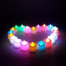 1 Pcs Led Light Candle Flameless Colorful Tea Candle Lamp Electronic Candle Part