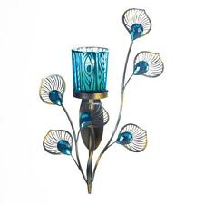 Assorted Peacock Inspired Candleholders Sconces Lanterns Wall 9choices Light NEW