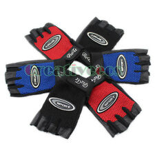 Men's Leather Mesh Motorcycle Bike Car Cycling Sports Fitness Hip-hop Gloves New