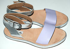 Clarks Romantic Moon Lilac Leather Ankle Strap ladies sandals 3 - 7 RRP £50