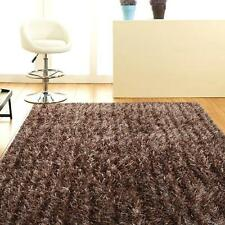 Orlando Beige FOUR SIZES New Designer Thick Shaggy Floor Rug FREE DELIVERY